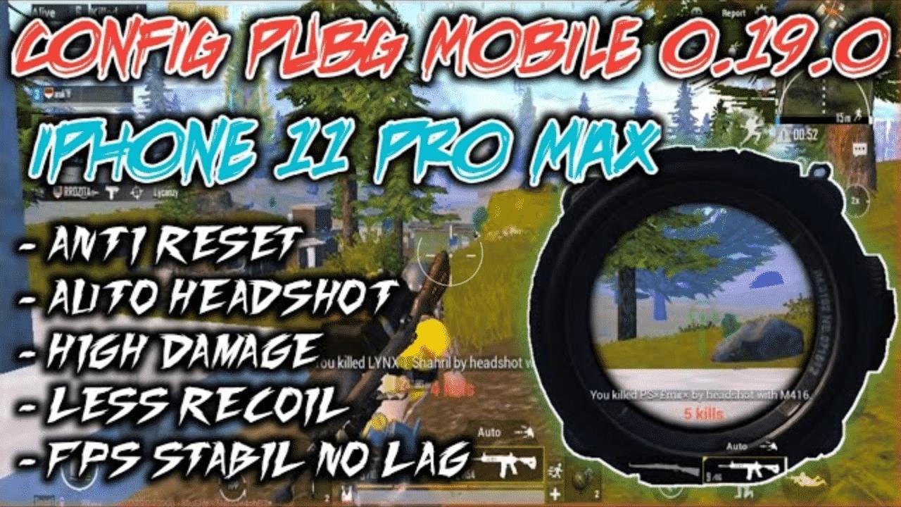 Config Pubg Aimbot Auto Headshot Update Terbaru