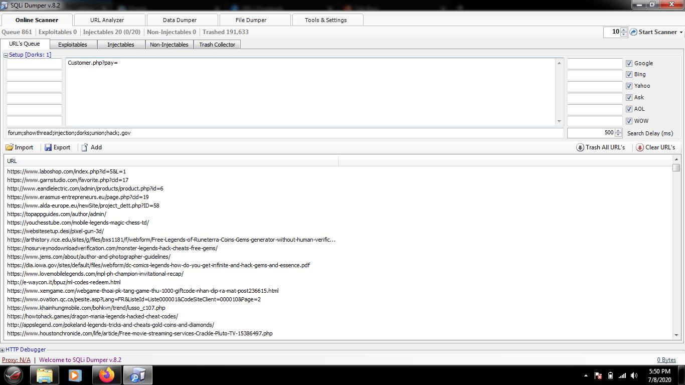 Download SQLi Dumper Terbaru + Lisensi