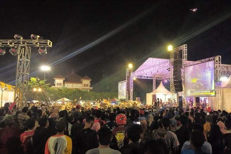 Waduh Polisi tidak berani Bubarkan Konser Dangdut di Tegal, Ternyata.