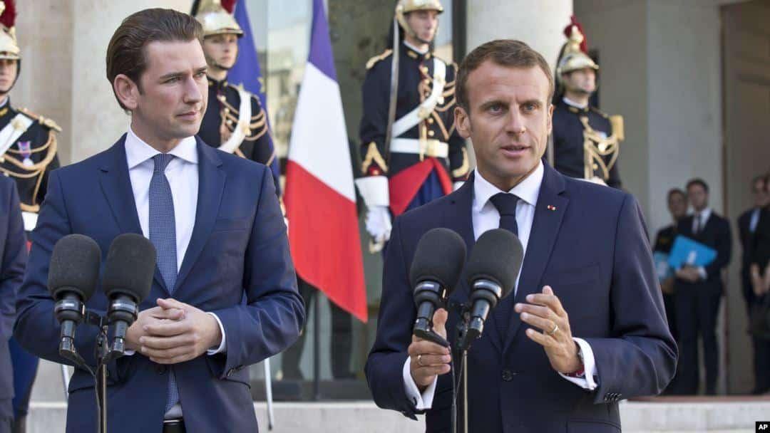 """Lawan """"Politik Islam"""" Macron dan Kurz Imbau Bentuk Front Dengan Eropa"""