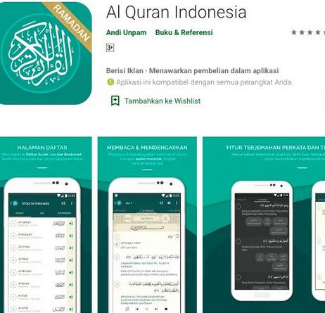 Aplikasi al-Quran yang Sangat Recommended