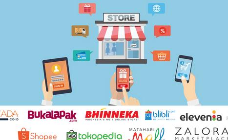 Aplikasi Marketplace Terbaik di Indonesia