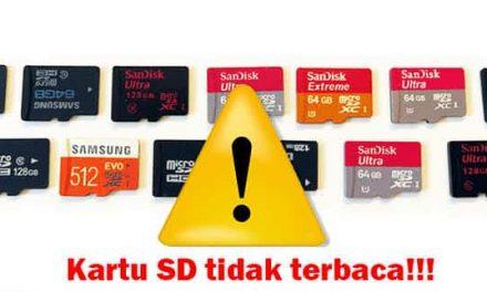 Kartu memori SD Tidak Terbaca? Begini Cara Memperbaikinya!