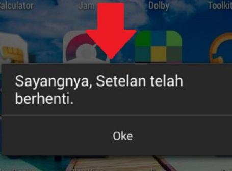 Cara Mengatasi Aplikasi Android Keluar Sendiri