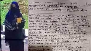 Kronologi dan Pesan Surat Wasiat Penyerang Mabes Polri ditemukan